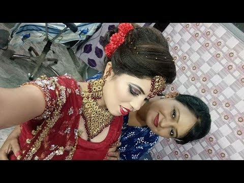 Indian bridal makeup ( Hindi)