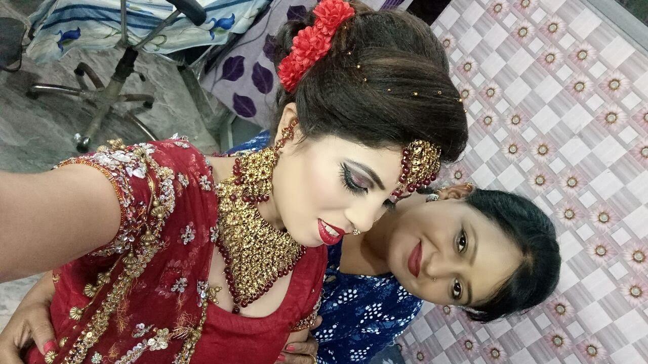 indian bridal makeup ( hindi)