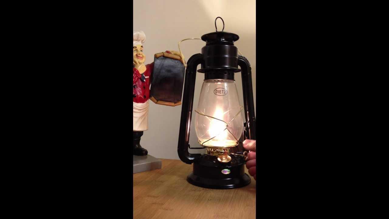 Dietz No 20 Junior Cold Blast Hurricane Kerosene Lamp Oil
