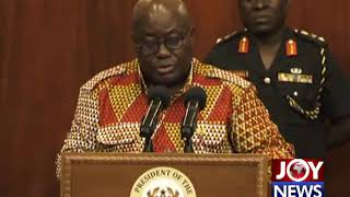 'Free SHS gets all the headlines but ... ' - Pres. Akufo-Addo. (20-12-18)