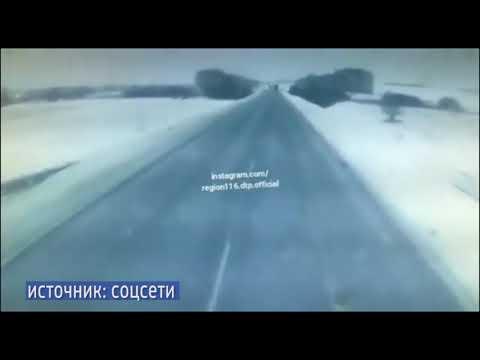 В жутком ДТП в Менделеевском районе погибли мать и дочь
