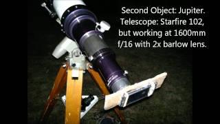 Nokia N8 Video Astronomy