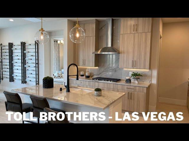 Montrose by Toll Brothers | Luxury Single Story | Homes For Sale Las Vegas Skye Canyon | Evora 577k+