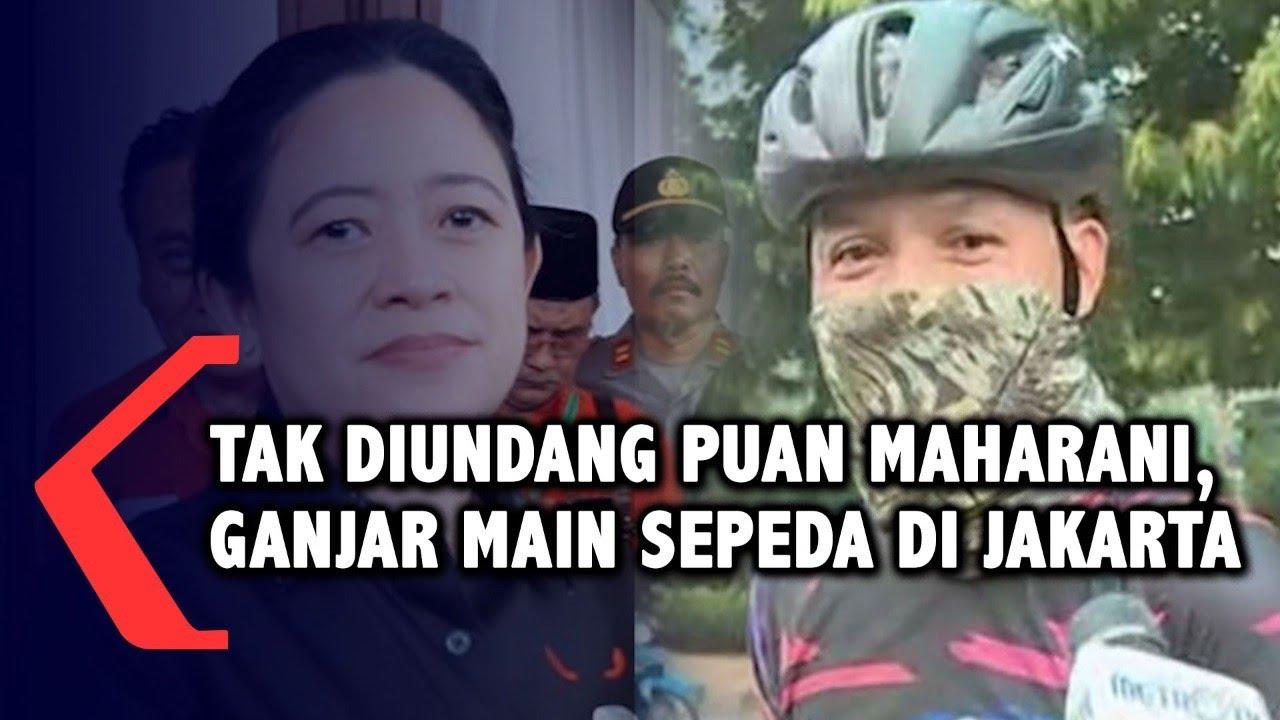 Tak Diundang PDIP, Ganjar Pilih Main Sepeda di Jakarta