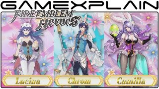 Fire Emblem Heroes - Spring Festival Special Heroes Trailer