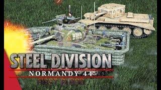 2nd European Tournament Round 3! Gonzo vs Herr Robert, Game 1 - Steel Division: Normandy 44