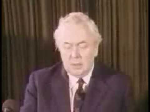 UK General Election February 1974 - Harold Wilson Speech