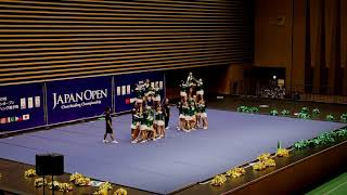 2018 Japan Open Cheerleading Competition - Senior All Girl Advanced - SPCP HS Pep (Champions)