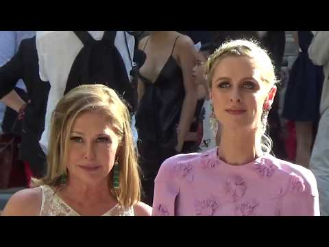 Nicky HILTON and her mother Kathy @ Paris July 5, 2017 Fashion Week  Valentino  Juillet PFW
