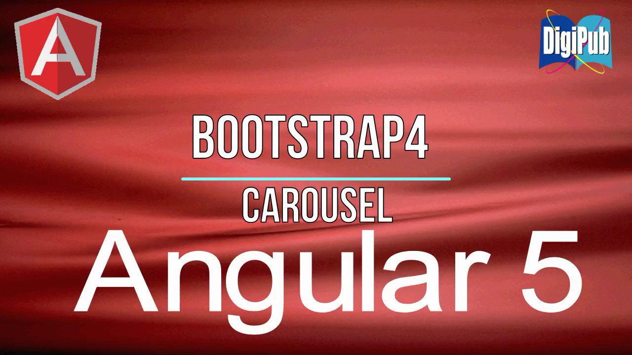 How to use Bootstrap4 Carousel in Angular5