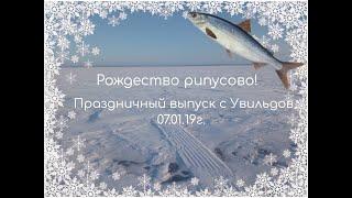 Рождество Рипусово! Рыбалка на оз.Увильды в Рождество. Праздничный выпуск!