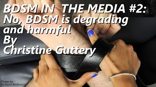 Download Video BDSM In the Media #2: BDSM by nature... by Christine Guttery MP3 3GP MP4