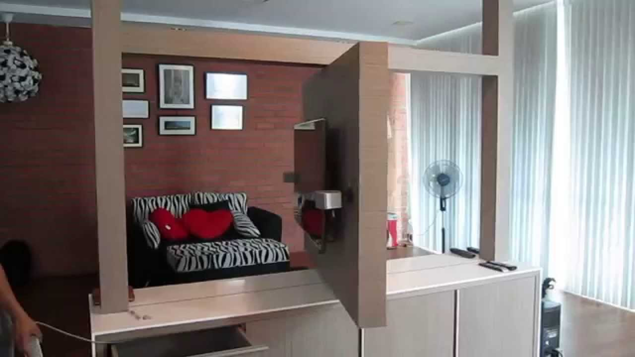 Revolving Tv Feature Wall Youtube