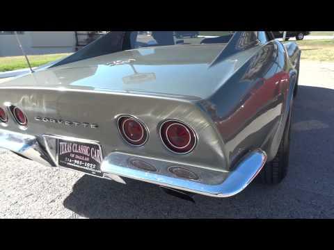 1971 Corvette Steel Cities Gray C3 Classic Vette