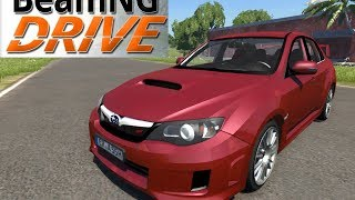 BeamNG DRIVE Subaru Impreza wrx sti 2011