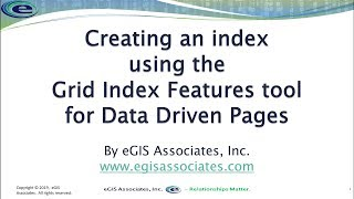 Creating Grid Index for Data Driven Pages in ArcMap