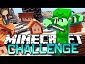 Minecraft: Christmas Town CHALLENGE PVP  Mini-Game w/Bajan Canadian & The Pack!