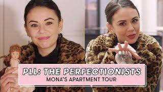 PLL: The Perfectionists Star Janel Parrish Tours Mona's Apartment   Set Tour