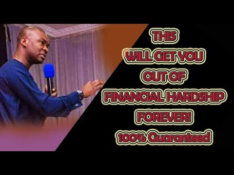 Download This Will Get You Out of Financial Hardship Forever 100% Guaranteed - Apostle Joshua Selman Nimmak