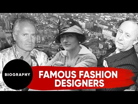 Famous Luxury Fashion Designers Chanel Dior Versace Youtube