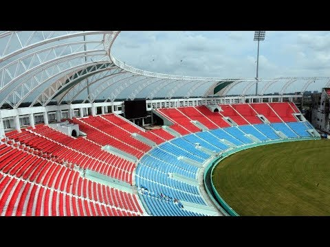 लखनऊ में बना देश का दूसरा सबसे बड़ा इंटरनेशनल क्रिकेट स्टेडियम