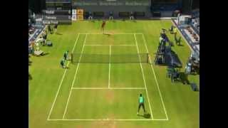 Virtua Tennis 2009 nice gameplay...PC