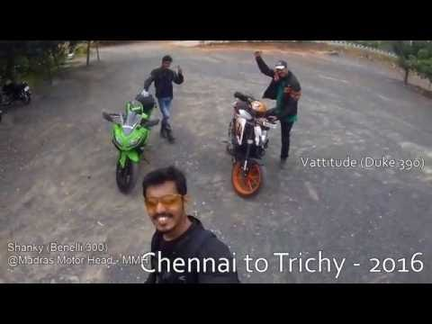 Road Trip | Chennai to Trichy | Duke390 | Benelli300 | Ninja300