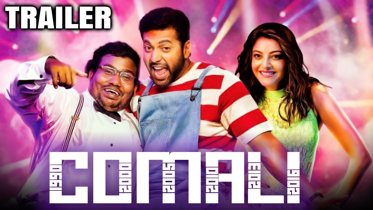Download Comali (2020) Official Hindi Dubbed Trailer | Jayam Ravi, Kajal Aggarwal, Samyuktha Hegde