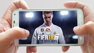 طريقة تحميل لعبة فيفا FIFA 2018  الجديدة بجرافيك خيالي لهواتف الأندرويد مجانا Video