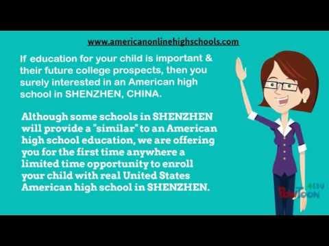 American High School in Shenzhen