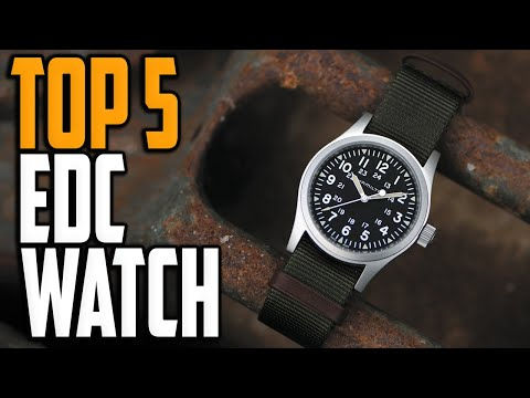 Best EDC Watches 2020 – Top 5 EDC Watch Reviews