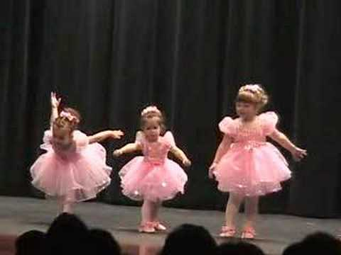 little ballerina s first recital youtube