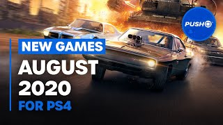 New Ps4 Games: August 2020's Best New Releases | Playstation 4