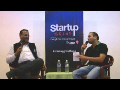 Tapan Singhel (Bajaj Allianz) at Startup Grind Pune