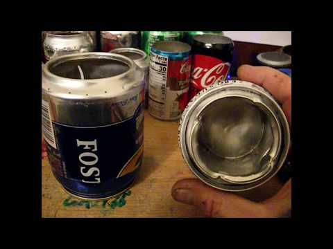 """A EASY DIY 1-7 oz.ALCOHOL """"COOKING"""" CAMP STOVE, burn time 4-60++min by CAM Z"""