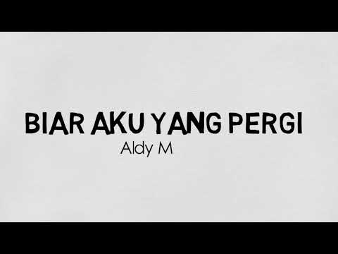 Biar Aku yang Pergi - Aldy Maldini (Cover ver.) - Animation Music Lyrics Video