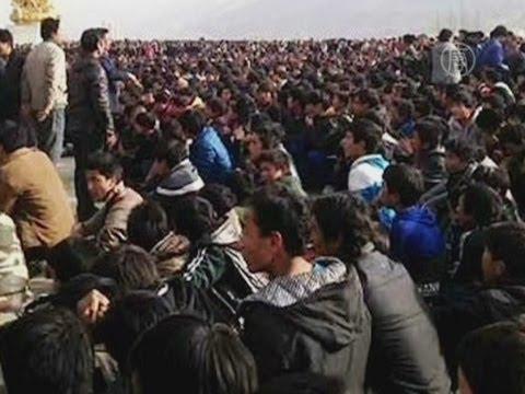 Тибет охватили протесты