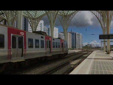 Lisbon Oriente Railway Station / Gare do Oriente, Lisbon, Portugal - 11th May, 2016