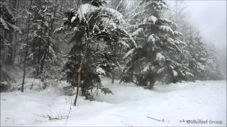 Repeat youtube video 吹雪60min/Snowstorm/Healing,Relaxing,Sleep Sounds