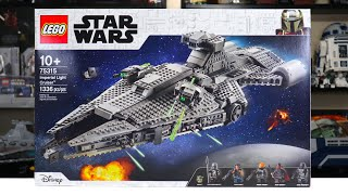 LEGO Star Wars 75315 IMPERIAL LIGHT CRUISER Review! (2021)
