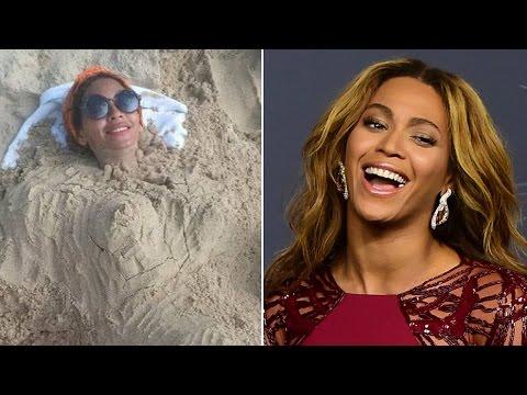 Beyonce pregnant again? Hmm...