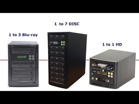 How to build a CD/DVD/Blu-ray/Hard-Drive Duplicator - A step by step Guide