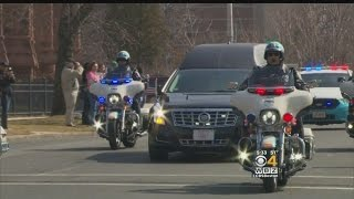 Funeral Held For Police Officer Killed On First Day Of Duty