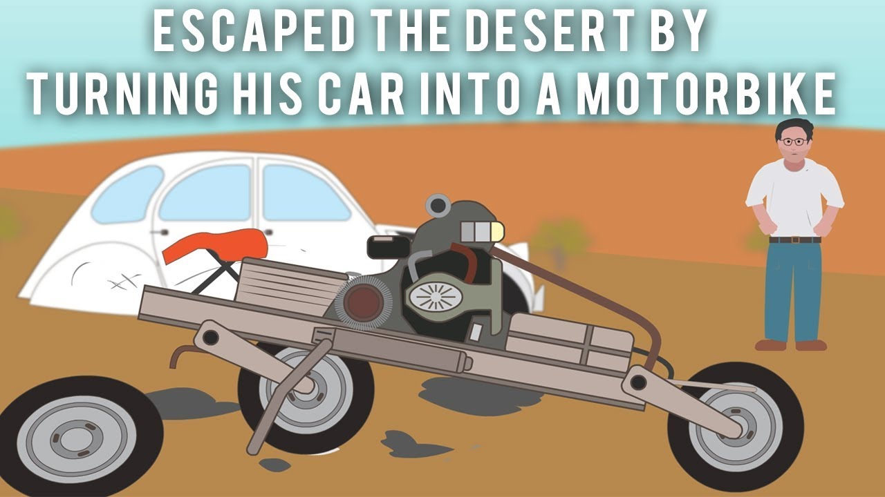 the-electrician-who-escaped-the-desert-by-turning-his-car-into-a-motorbike
