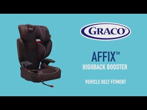 GRACO Affix car seat installation guide