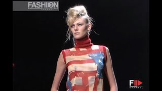 CATHERINE MALANDRINO Fall Winter 2001 2002 New York - Fashion Channel