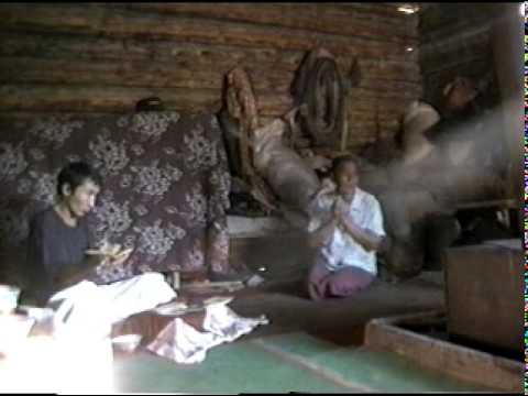 A Tuvan religious ritual