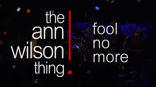 the ann wilson thing - fool no more LIVE @ belly up tavern