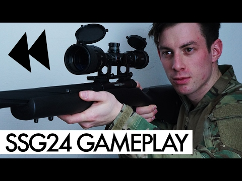 Novritsch SSG24 Gameplay - How does it shoot? Review Ingame
