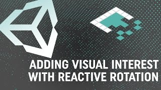adding visual interest with reactive rotation